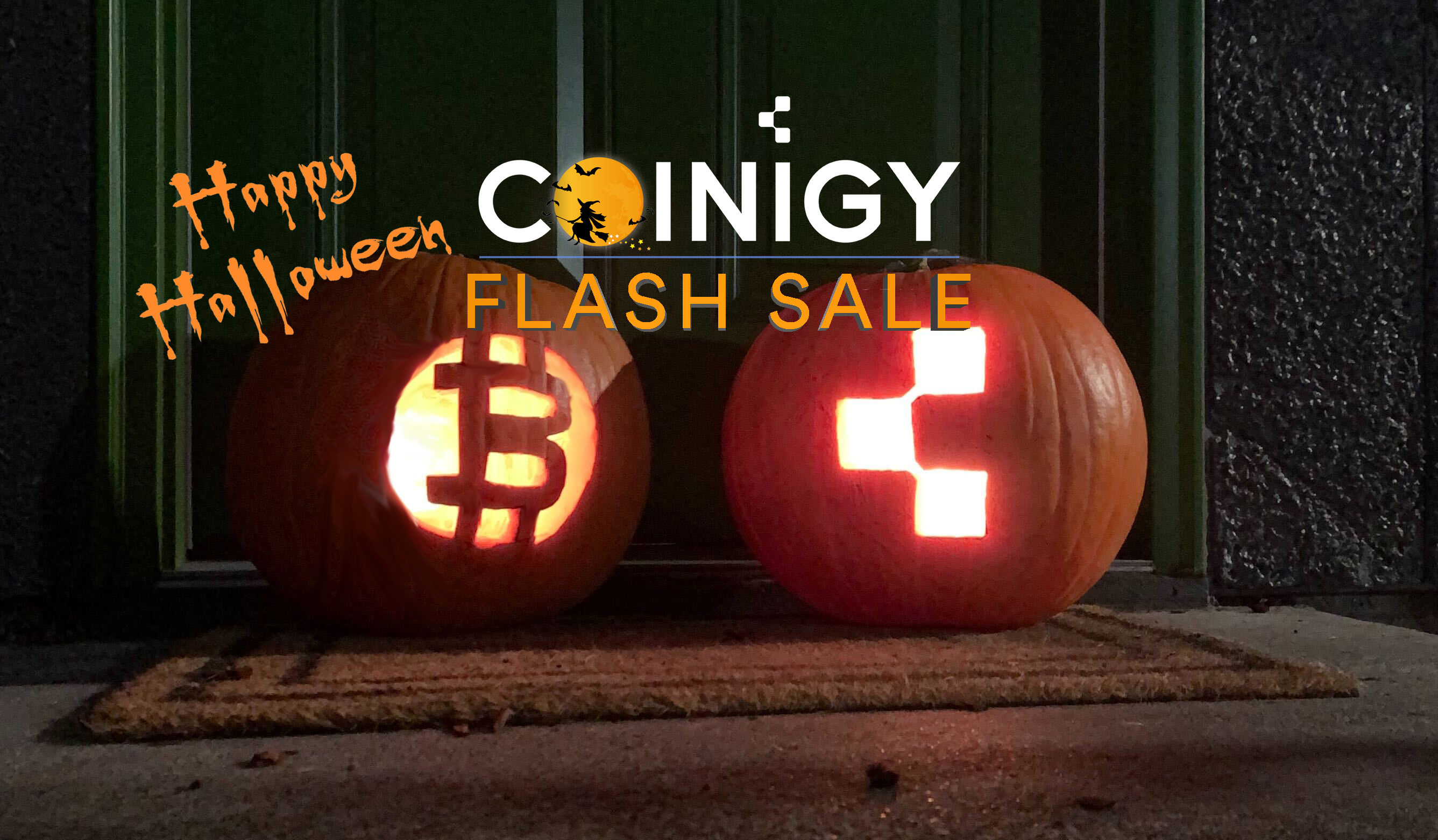 Coinigy Flash Sale! 25% off 🎃👻 Limited Number Available!