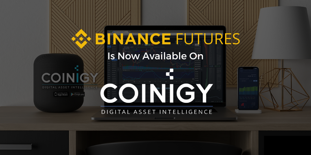 Binance Futures Is Now Available For Charting On Coinigy!