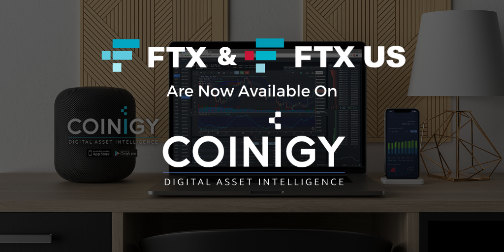 FTX & FTX.US Now Available for Charting on Coinigy!