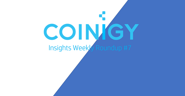 Coinigy Insights Weekly Roundup #7