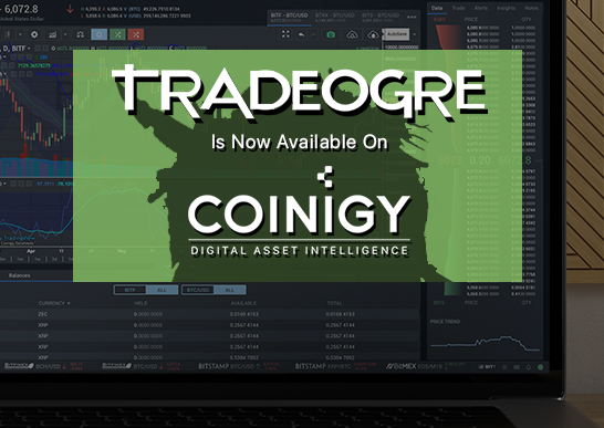 TradeOgre Is Now Available For Charting On Coinigy!