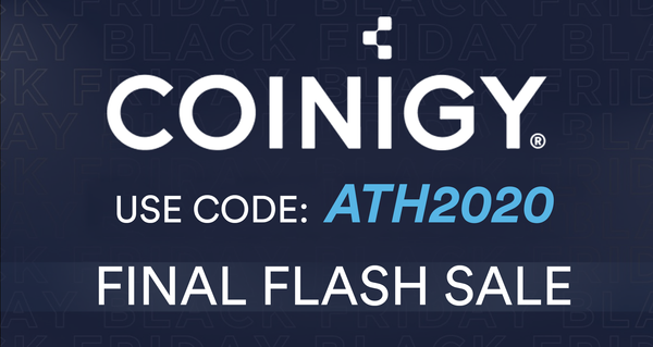 Final Coinigy Black Friday Flash Sale!