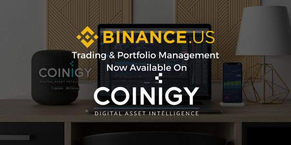Binance.US Full Trading Support Now Available on Coinigy
